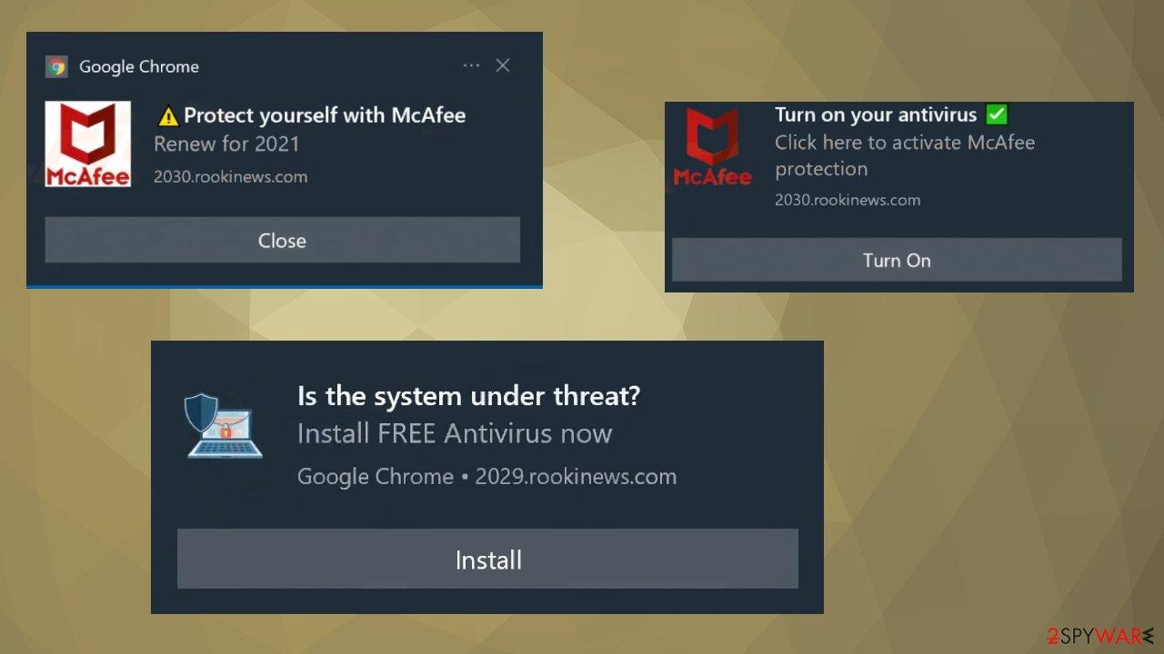 Rookinews.com adware