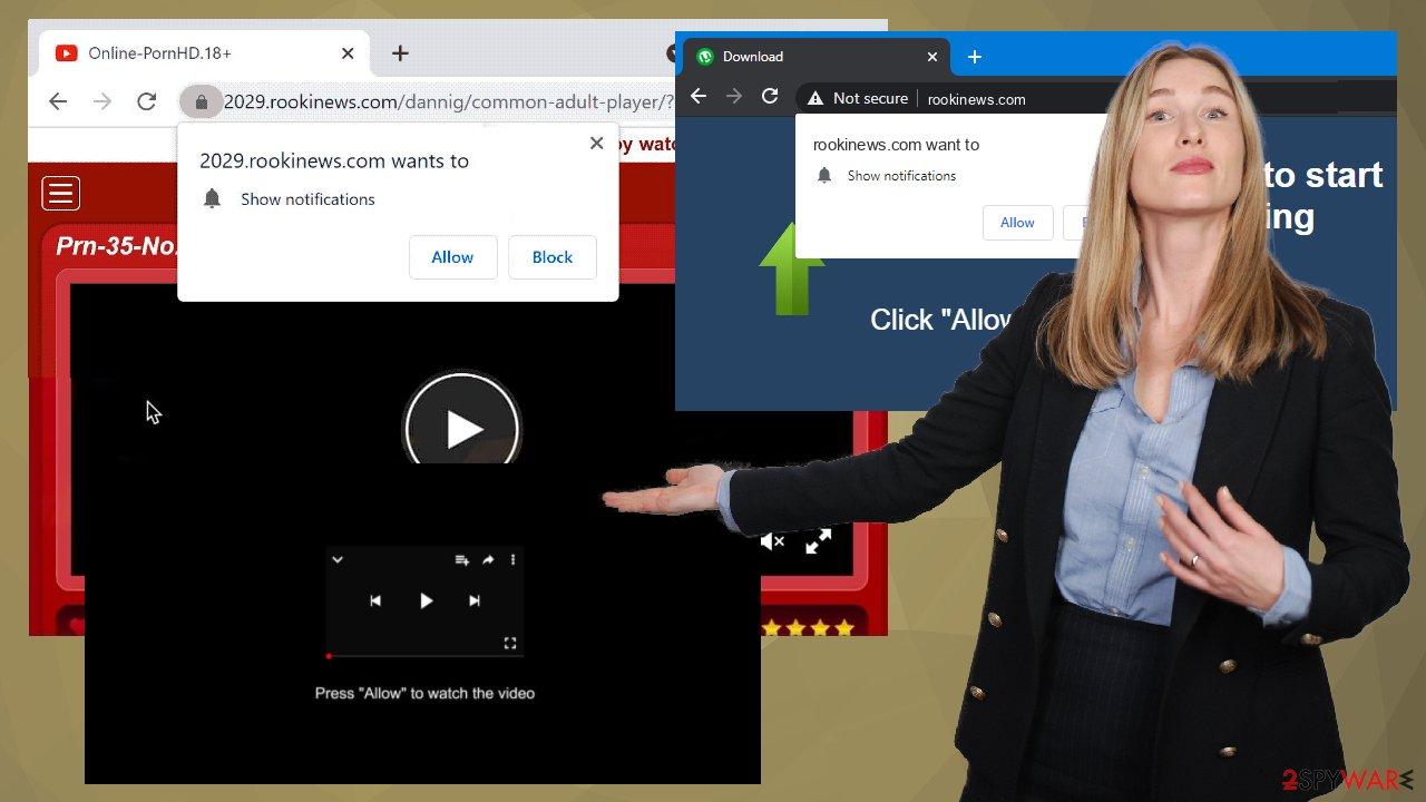 Rookinews.com ads
