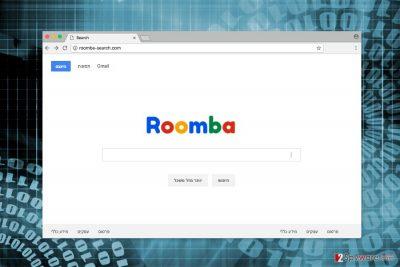 Screenshot of Roomba-search.com