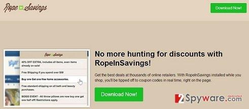 RopeInSavings ads snapshot
