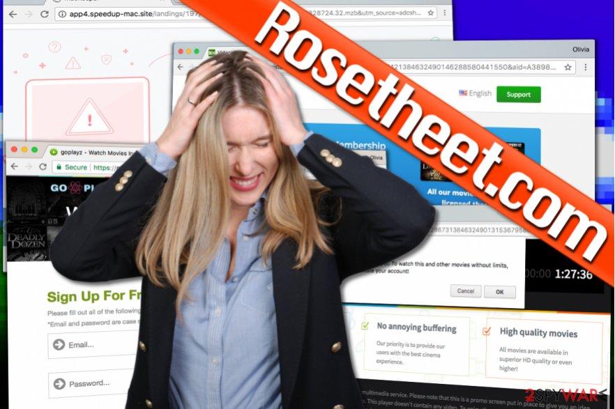 Rosetheet.com virus