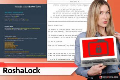 RoshaLock ransomware