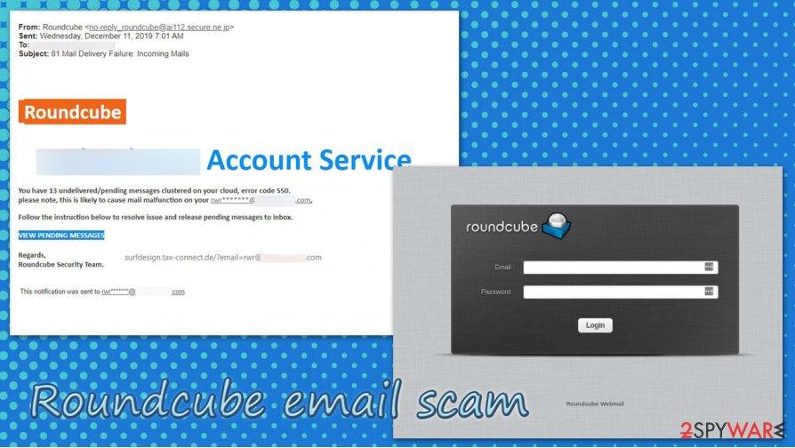 Roundcube email scam virus