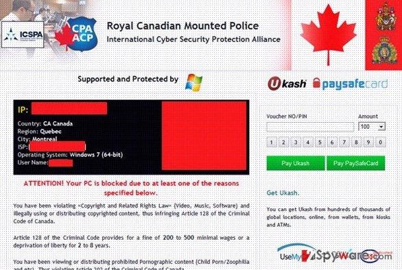 how to delete police virus