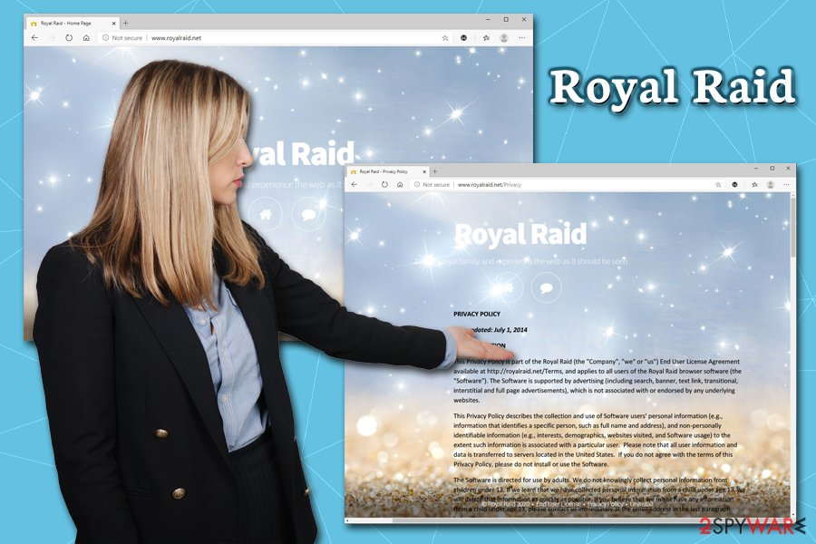 Royal Raid virus