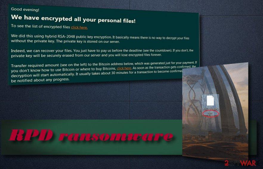 RPD ransomware