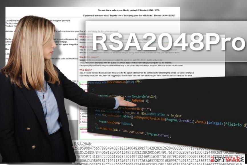 RSA2048Pro ransomware virus
