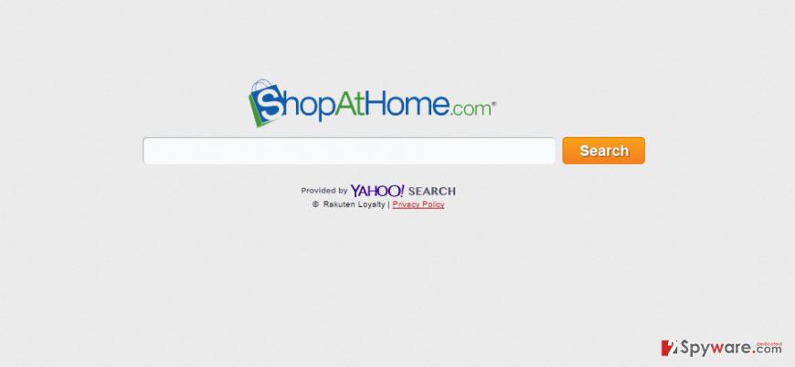 Rsearch.ShopAtHome.com snapshot