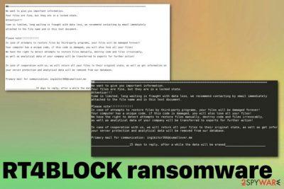 RT4BLOCK ransomware