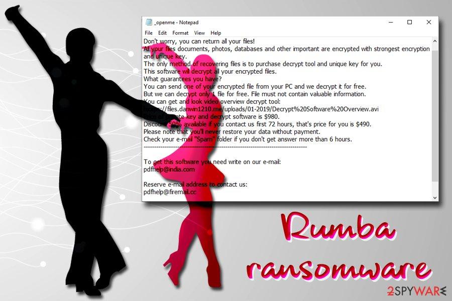 Rumba ransomware