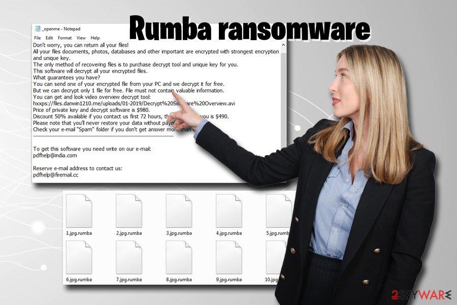 Rumba ransomware virus