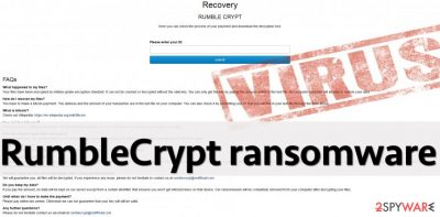 RumbleCrypt virus payment site