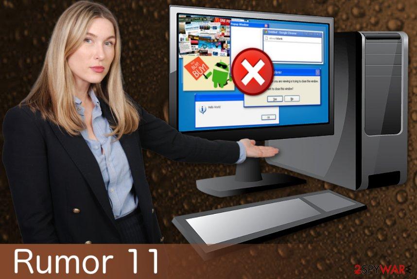 Rumor 11 adware