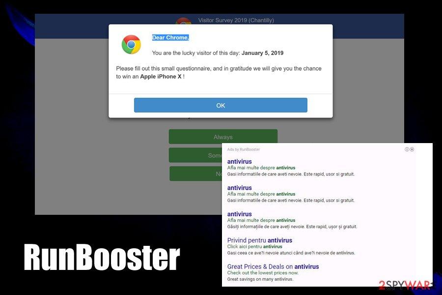 RunBooster ads