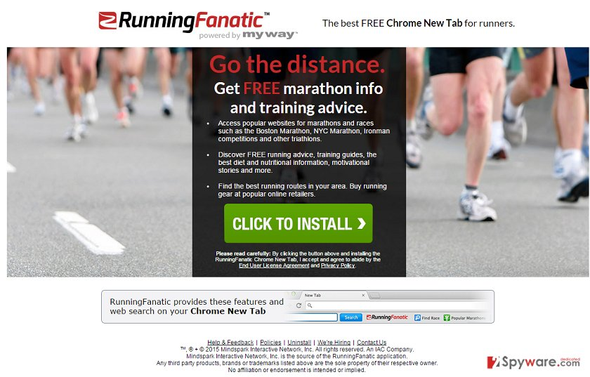 Running Fanatic Toolbar virus