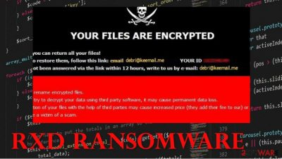 RXD ransomware