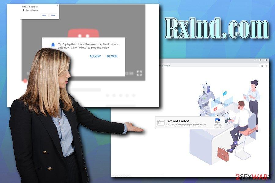 Rxlnd.com pop-ups