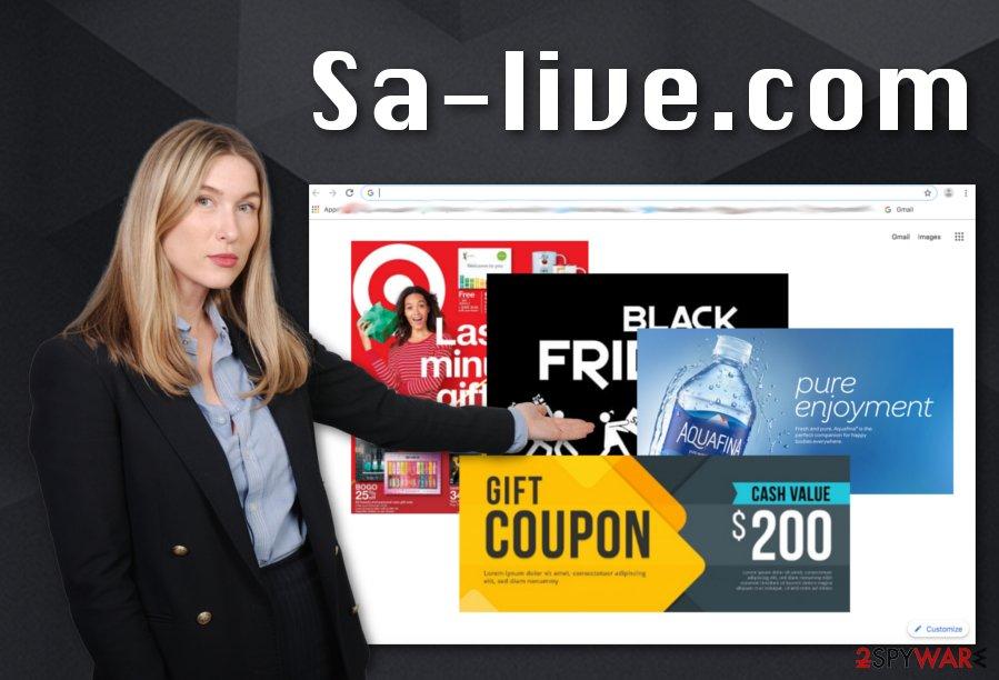 Sa-live.com adware