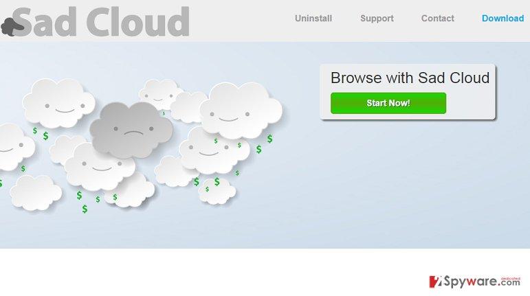Sad Cloud virus