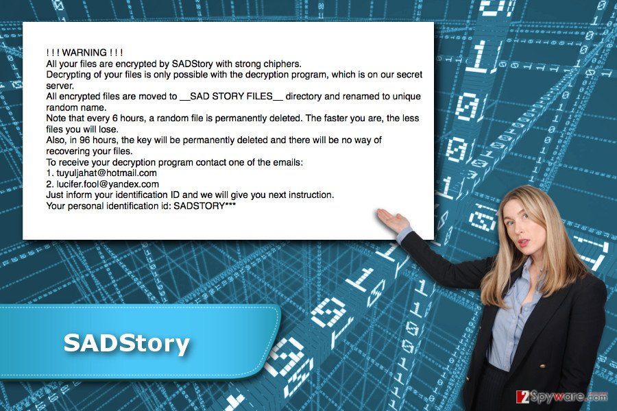 SADStory ransomware virus