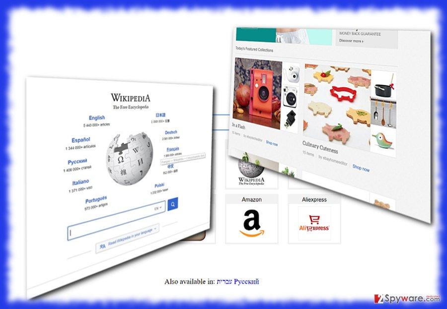The image illustrating Saerch.net