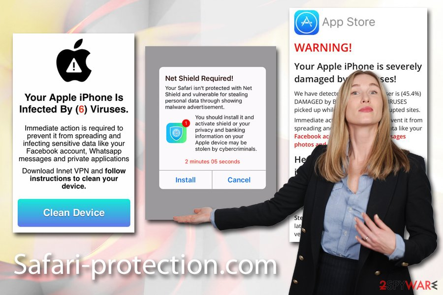 Safari-protection.com adware