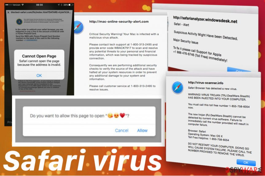 Safari virus