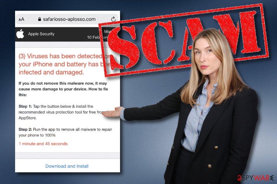 Safariosso-aplosso.com scam