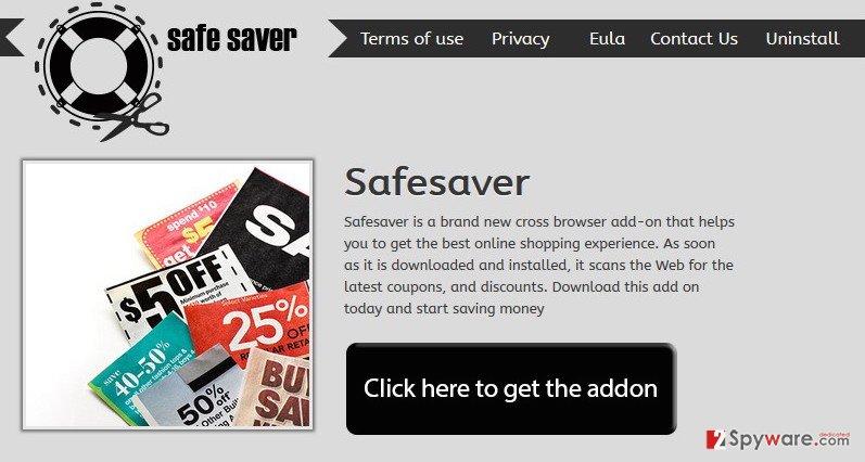 Safe Saver virus