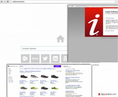 Safebrowsing.biz browser hijacker
