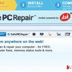 SafePCRepair Toolbar snapshot