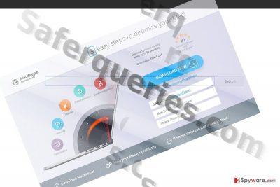 The screenshot of Saferqueries.com