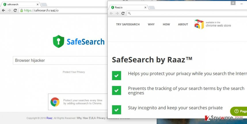 Safesearch.raaz.io hijack