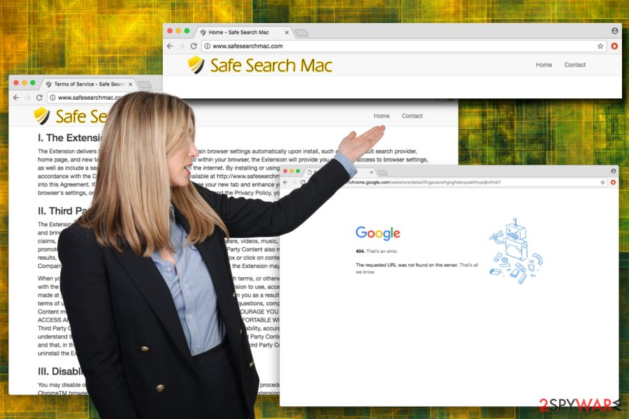 Safesearchmac.com browser hijacker