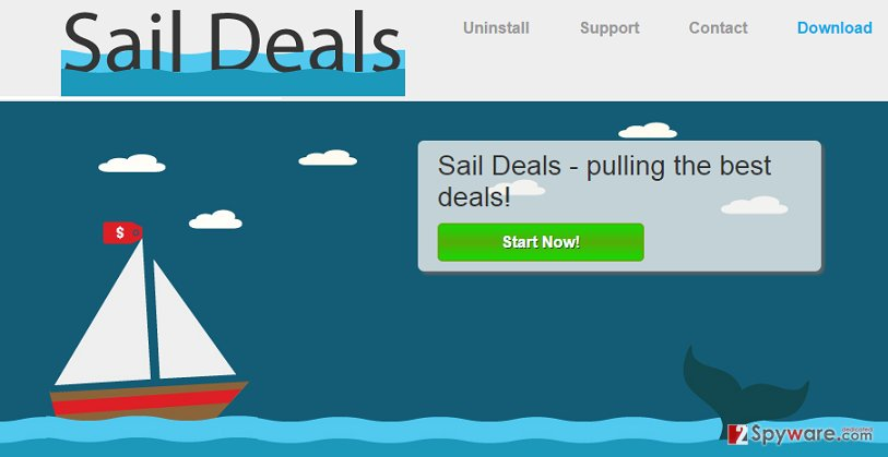 Sail Deals ads