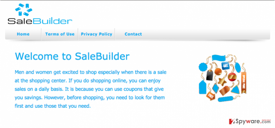 Ads by SaleBuilder snapshot