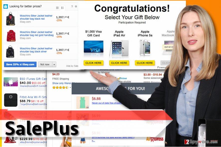 SalePlus ads