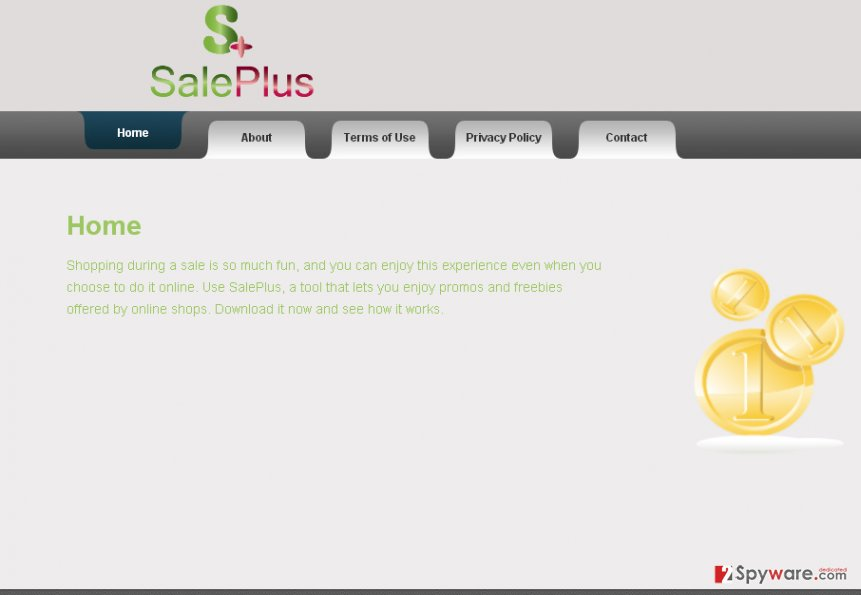 Official SalePlus website