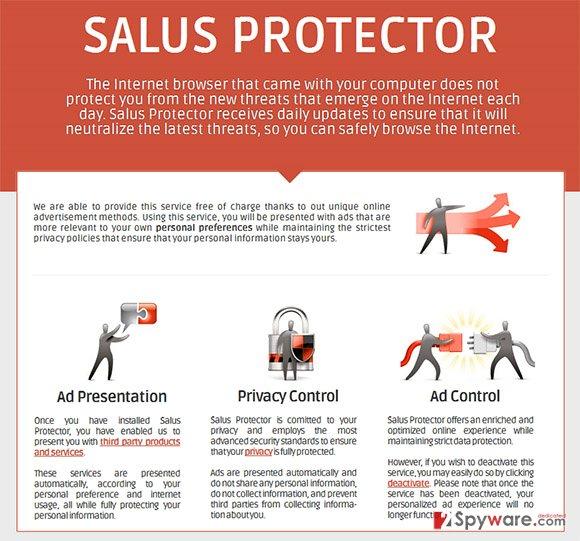 Salus Protector snapshot