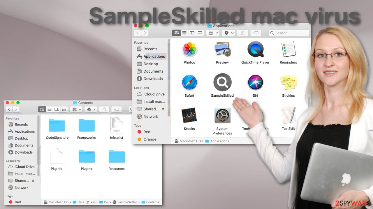 SampleSkilled mac virus