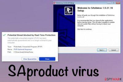 SAproduct virus