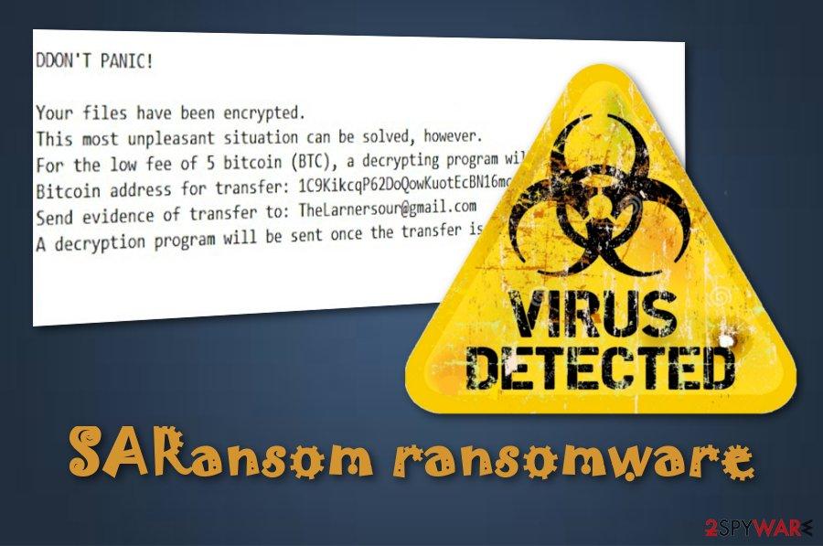 SARansom ransomware