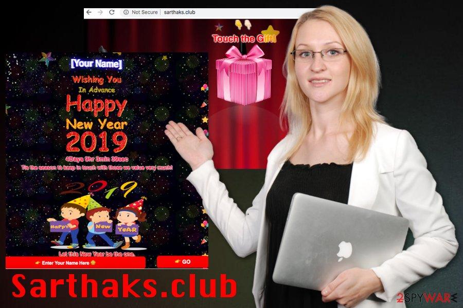 Sarthaks.club adware