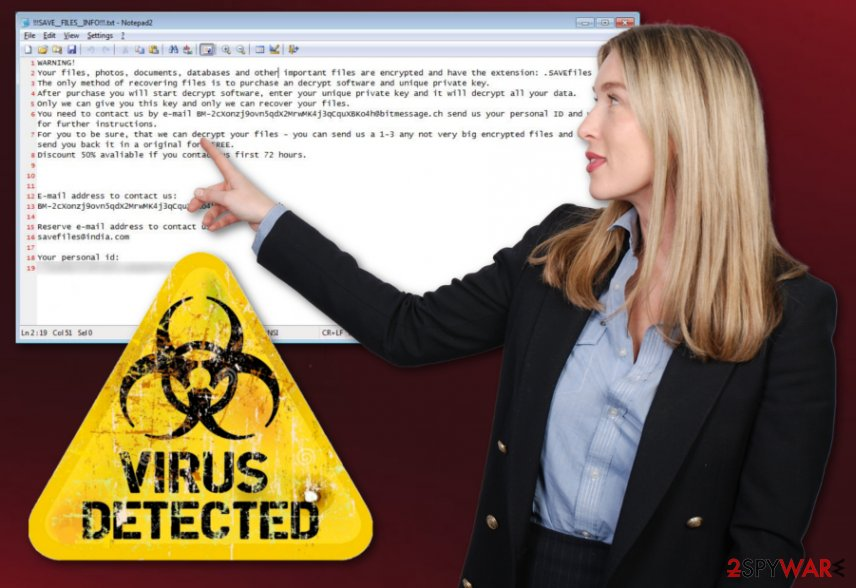 SAVEfiles virus