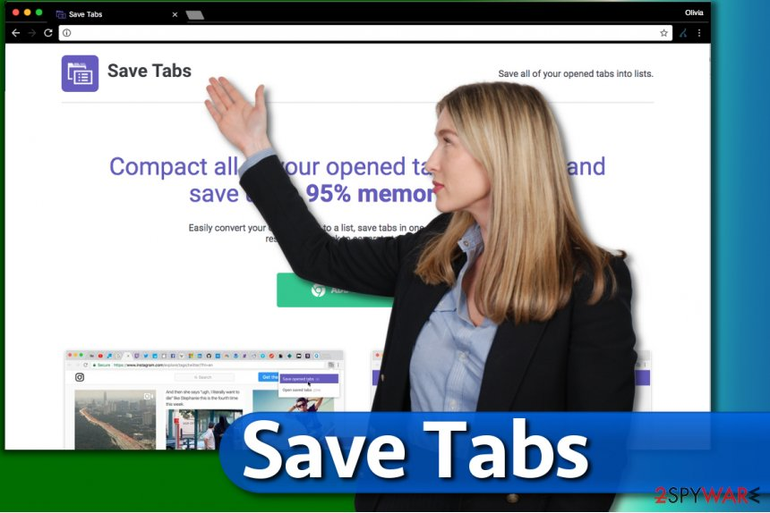 Save Tabs extension for Chrome