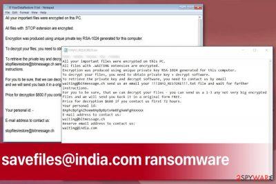 savefiles@india.com ransomware virus