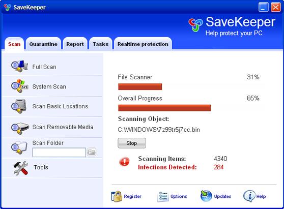 SaveKeeper