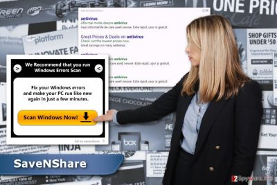 SaveNShare ads