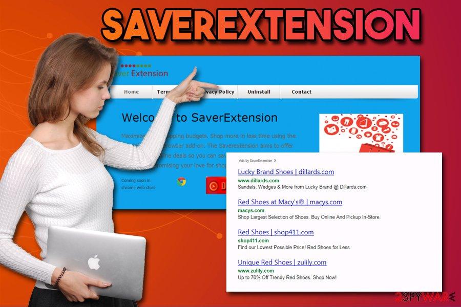 SaverExtension ads