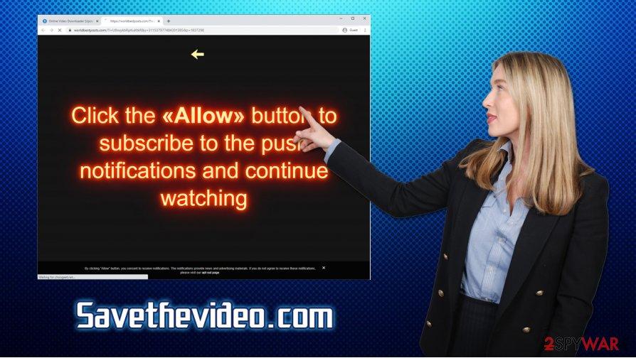 Savethevideo.com ads
